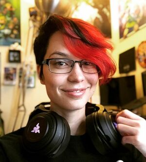 Been streaming a lot of Minecraft with my Discord community recently. Really loving the people and the game and the whole experience. Puts me in my happy place. <3