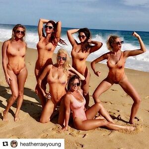 Happy birthday @heatherraeyoung  #Repost @heatherraeyoung ・・・ F u hurricane Norma making us evacuate  Cabo 😡😡😡 can't take us down !!!! #mankinis #hairybody #sexyaf #flirty30
