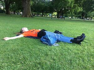Someone take me to London I need to touch grass